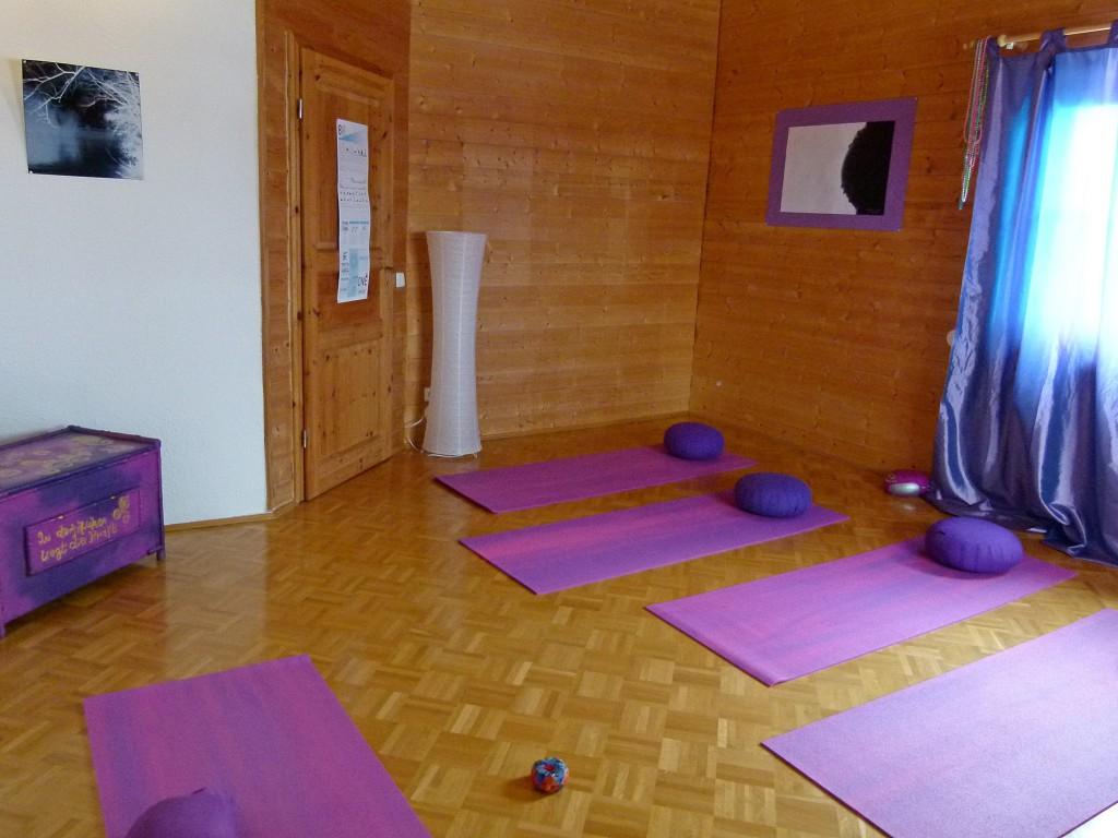 Hier findet der Yoga-Unterricht in Altusried statt